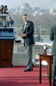 Ronald Regan februar 1981. godine